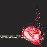 Schmutzmalereiblumen Lizenzfreies Stockbild