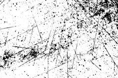 Schmutzoberfläche mit Kratzern, Sprüngen und schmutzigen Stellen Lizenzfreie Stockfotografie