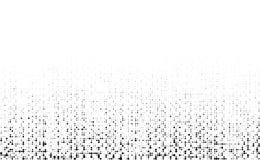 Schmutzraue Halbtonbeschaffenheit Zerknitterte Leinwand segeltuch Textilhintergrund unter Verwendung des Halbtonkreispunktmusters vektor abbildung