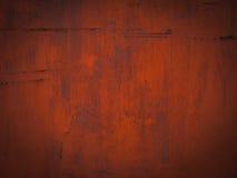 Schmutzrote Stahlplatte für Hintergrund Stockbilder