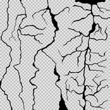 Schmutzschwarzweiss-Muster Vektor vektor abbildung