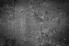 Schmutzschwarzweiss-Wand Lizenzfreie Stockfotografie