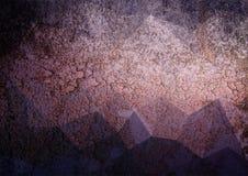 Schmutzsteigungs-Farbzusammenfassung Lizenzfreies Stockbild