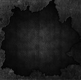 Schmutzstein und Metallhintergrund Stockfotos