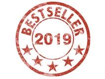 Schmutzstempelaufkleber für Bestseller 2019 stockfoto