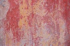 Schmutzwand des alten Hauses Strukturierter Hintergrund Lizenzfreies Stockfoto
