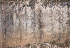 Schmutzwand des alten Hauses. Strukturierter Hintergrund Stockfotografie