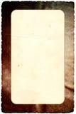 Schmutzweinlese-Fotorahmen stockbilder