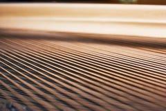Schnüre innerhalb eines Klaviers Stockfotos