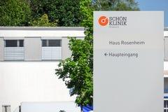 Schön Klinik Roseneck Royalty Free Stock Photography