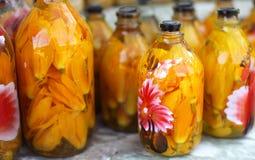 Schnapps alcoólico destilado do espírito ou da bebida, h foto de stock royalty free