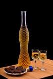 Schnapps bottle Royalty Free Stock Image