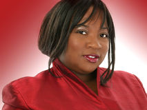 Schöne Afroamerikaner-Frau Lizenzfreie Stockfotografie