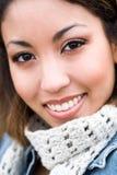Schöne Afroamerikanerfrau Lizenzfreies Stockfoto