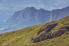 Schöne alpine Landschaft Stockbilder