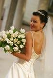 Schöne Braut Stockbild