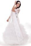 Schöne Braut in voller Länge Lizenzfreie Stockfotografie