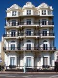 Schöne georgische Häuser Stockfoto