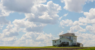 Schöne Himmel in Waterloo, Iowa Stockfotografie