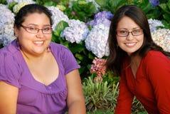 Schöne hispanische Frauen Stockfotos