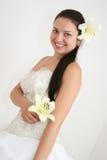 Schöne junge Braut Lizenzfreies Stockfoto