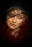 Schöne junge Frau. Portrait Stockfoto