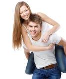 Schöne junge Paare Lizenzfreie Stockfotografie