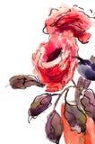 Schöne Roseblumen Stockbild