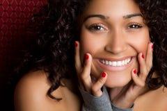Schöne schwarze Frau Stockfotos