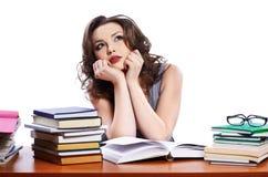 Schöne Studentin Stockfotos