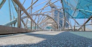 Schneckenbrücke Stockbild
