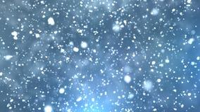 Schnee-Übergänge 4K stock video