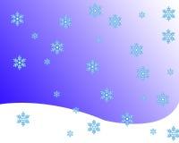 Schnee lizenzfreie abbildung
