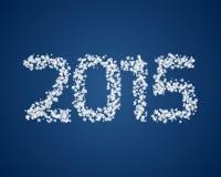 Schnee 2015 Stockbild