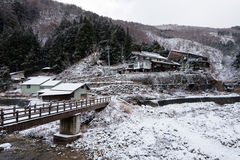 Schnee-Affe-Park, Yamanouchi, Japan Stockfotografie