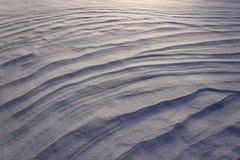 Schnee-Antriebe Lizenzfreies Stockfoto