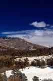 Schnee auf den Kolorado-Hochebene-Bergen Lizenzfreie Stockbilder