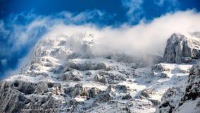 Schnee bedeckt Stockfoto