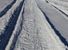 Schnee bedeckt Stockfotografie