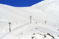 Schnee-Berg Lizenzfreies Stockbild