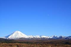 Schnee-Berg Stockfoto