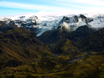 Schnee-Berg Lizenzfreies Stockfoto