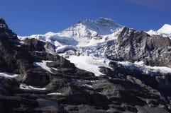 Schnee-Berg Stockbild