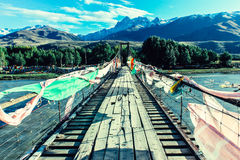 Schnee-Berg, Taschkent, Uzbekistan lizenzfreies stockfoto