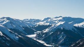 Schnee-Berge Stockbild