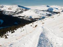 Schnee-Berge Stockfotos