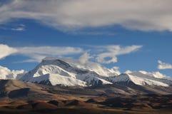 Schnee-Berge Stockfoto