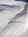Schnee-Beschaffenheit Lizenzfreies Stockfoto