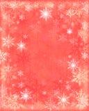 Schnee blättert Hintergrund ab Lizenzfreies Stockfoto