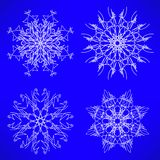 Schnee blättert Konzept ab Stockfotografie